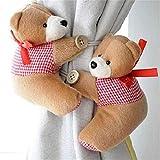meizu881par de alzapaños para cortina, diseño de osos, para cortina de habitación de niños,...