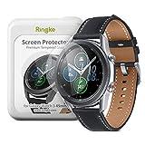 Ringke Invisible Defender Pellicola Protettiva [Vetro Temperato] [4-Pack] Compatibile con Galaxy Watch 3 45mm Shield Ultimate, qualità ad Alta Definizione, Tecnologia di Durezza 9H
