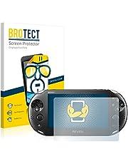 brotect Pellicola Protettiva Compatibile con Sony Playstation PS Vita Slim Pellicola Trasparente (2 Pezzi) Anti-Impronte