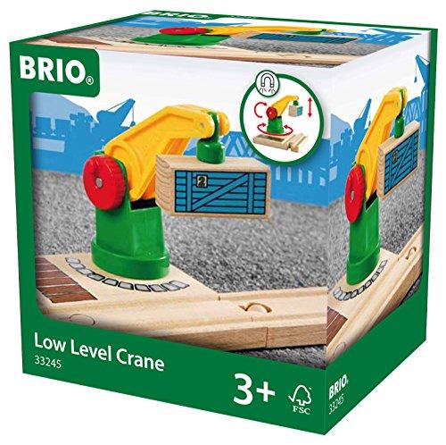 Brio - 33245 - Circuits de train en bois - Petite Grue