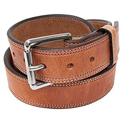 "Hanks A2950 Old World Stitched Belt - 1.5"" - Size 36"
