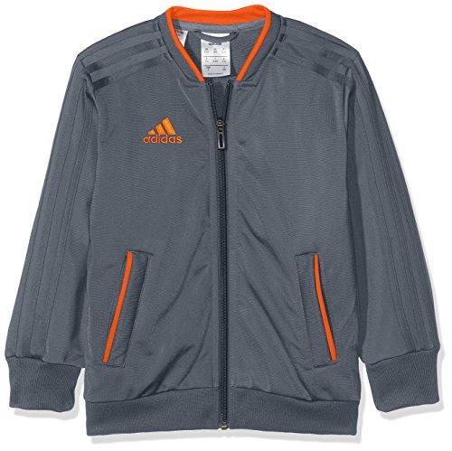 adidas Kinder Condivo 18 Trainingsjacke, Onix/Orange, 116