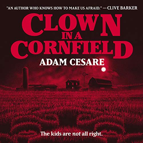 Clown in a Cornfield cover art
