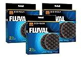 Fluval FX5/FX6 Bio-Foam (3 Paquetes con 2 Insertos Cada uno)