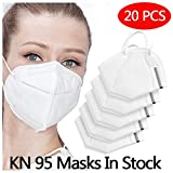 20 PCS Sport Face Mask with Filter Activated Carbon PM 2.5 Anti-Pollution...