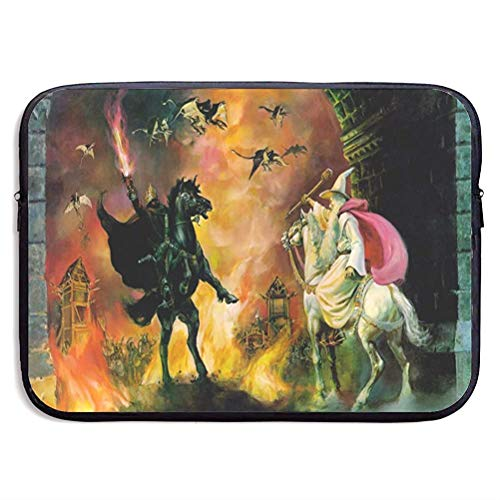 Lord Rings Laptop Sleeve Bag Tablet Briefcase Ultraportable Protective Cover Neoprene 15 inch