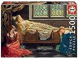 Educa Borras - Genuine Puzzles, Puzzle 1.500 piezas, La bella durmiente, John Collier (18464)