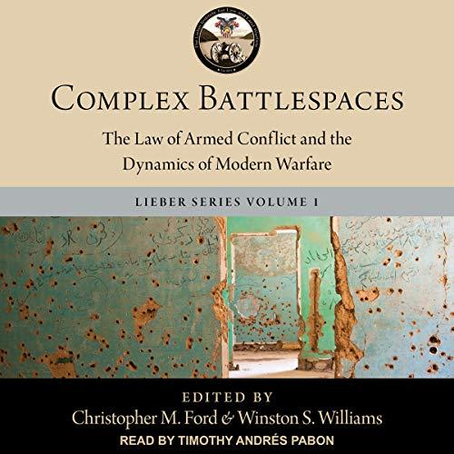 Page de couverture de Complex Battlespaces