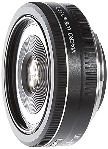 Canon Pancake EF-S 24 mm f/2.8 STM - Objetivo para Canon, distancia focal 24 mm, apertura f/2.8, negro