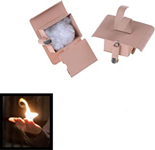 YGS Conjure Up Fire Flame Hand Gimmicks Close Up Stage Magic Trick - One Item w/Random Color and Design