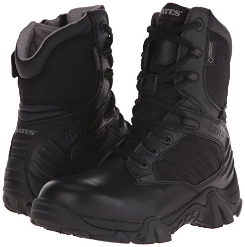 Bates Women's GX-8 Gore-Tex Side Zip Boot, Black, 8 M US