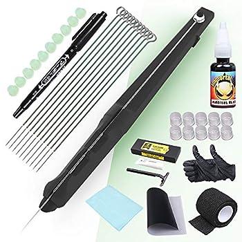 Dragonhawk Beginner Hand Stick Tattoo Kit DIY Tattoo Supply Ink Needles Set for Tattoo Artists DD-SZ