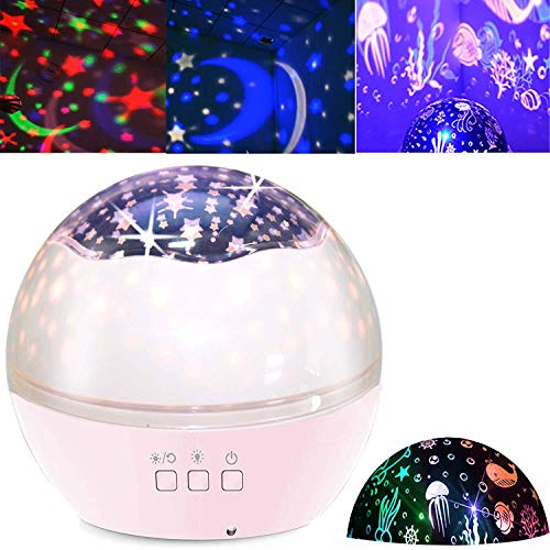 Preisvergleich Produktbild Sternenhimmel Projektor Nachtlicht Ozean Stimmungslicht für Geburtstag Party Zimmer Weihnachten Hochzeit