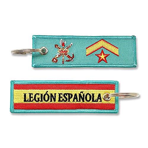 Llavero Legión Española Divisa (OR-9) Subteniente Ejercito...