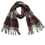 Lona Scott Tartanista - Bufandas de tartán escocés - 100% lana de cordero - 152 x 30 cm - Dress Stewart