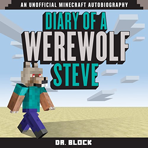 Diary of a Werewolf Steve audiobook cover art