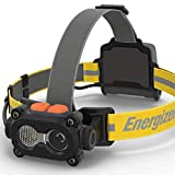 Energizer HARD CASE LED Headlamp Flashlight, 325 Lumens, IPX4 Water Resistant, Perfect Head Lamp For Camping, Hiking, Construction, Emergency Light, Batteries Included