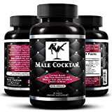Male Cocktail   Prime Testosterone Booster for Men   with Horny Goat Weed, L-Arginine, Tongkat Ali,...