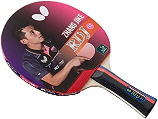 Butterfly Unisex-Adult Butterfly RDJ S1 Table Tennis Racket – ITTF Approved Butterfly Ping Pong Paddle – Great Spin, Speed...