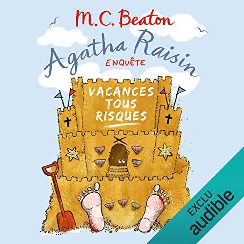 Vacances tous risques     Agatha Raisin enquête 6              De :                                                                                                                                 M. C. Beaton                               Lu par :                                                                                                                                 Françoise Carrière                      Durée : 6 h et 1 min     65 notations     Global 4,5