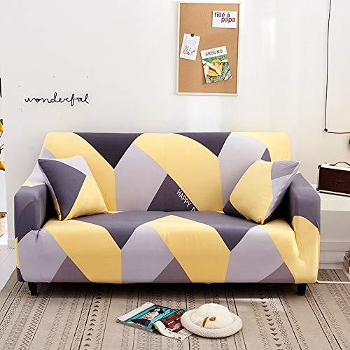 WXQY Funda de sofá Todo Incluido Sala de Estar Funda de sofá elástica sillón Funda de sofá Funda de protección de Muebles Funda de sofá A20 3 plazas