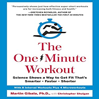 The One-Minute Workout audiobook cover art