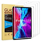 SPARIN [3 Pack Screen Protector for New iPad Pro 12.9 inch (2020 Model, 4th Generation), Tempered Glass for...