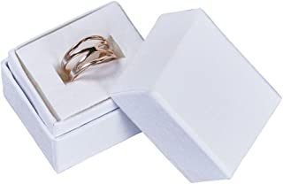 White Ring Boxes - Case of 500