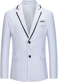 FFQY Men's Suits Men's Suit Jacket for Wedding Business Stylish Casual Patchwork Business Party Outwear Coat Suit Tops Coa...