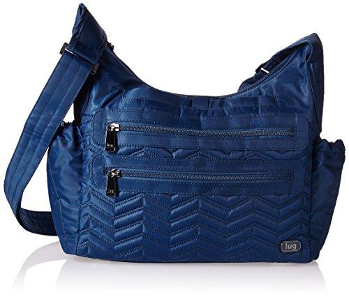 Lug Camper Cross Body Bag, Royal Blue