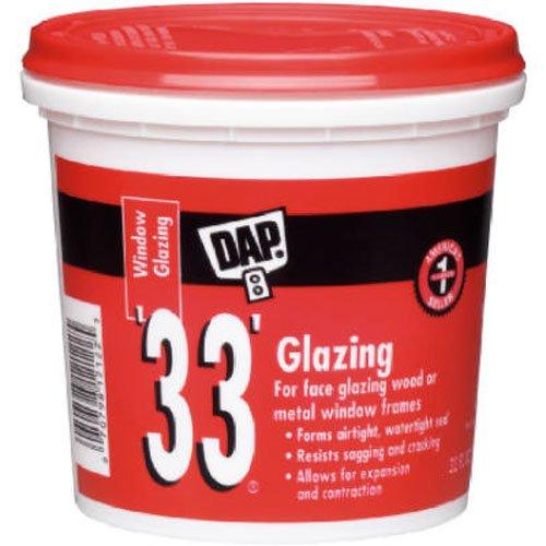 Dap 12121 33 Glazing Compound, 1-Pint, White by Dap (English Manual)