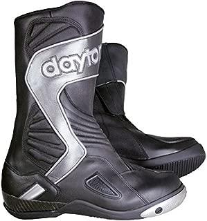Daytona Evo Voltex Gore Tex Sport Silver Leather Motorcycle Boot Size EU42, UK8