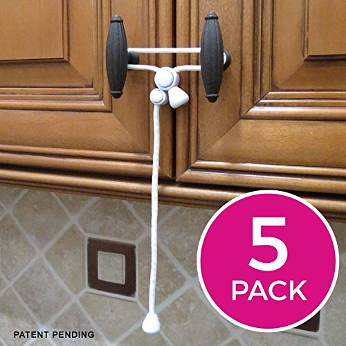 Amazon Com Kiscords Baby Safety Cabinet Locks For Knobs Child