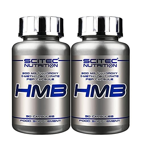 HMB | Anabol und antikatabol | Nahrungsergänzungsmittel für Muskelwachstum | Bodybuilding-Pillen (180 Capsules)