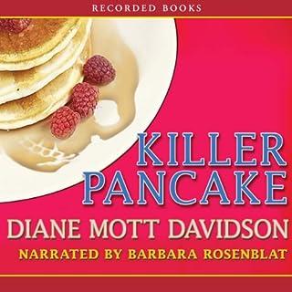 Killer Pancake audiobook cover art