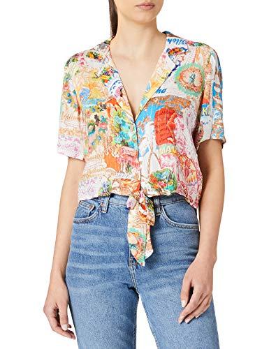 camicia donna hawaii Desigual Top_Bali Swimwear Cover Up