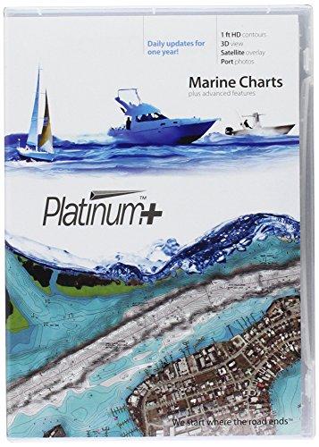 Navionics Platinum+ SD 638 Puget Sound Nautical Chart auf SD/Micro-SD Karte – MSD/638P+
