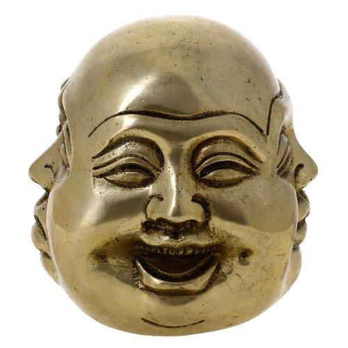Shalinindia Buddha Messing Sammlerstücke und Figuren