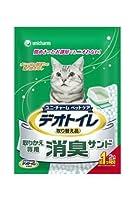 箱売り デオトイレ 消臭サンド 2L 猫砂 シリカゲル 1箱8袋入