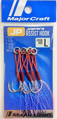Major Craft Anzuelo Assist Hook Null JIPARA Null - 60, by 5, L, N°3/0, 22