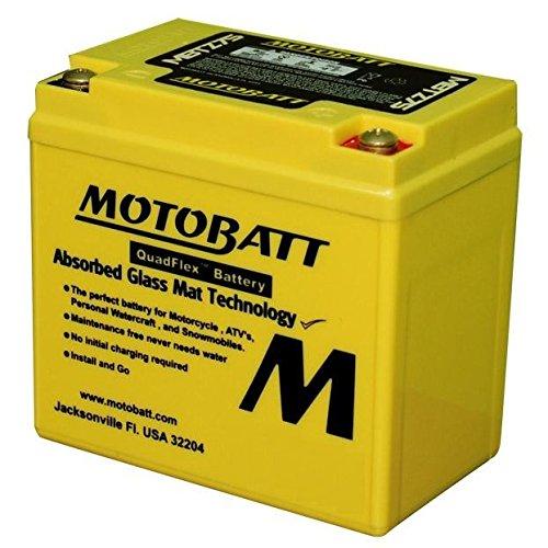 Batería Motobatt–Amarilla Softail para Tutti I Softail a partir de 1991al 2016