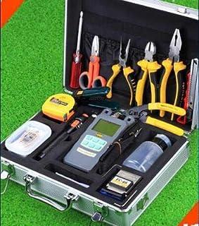 FTTH Optical Fiber Splicing Tool Box Fiber Cleaver and Optical Power