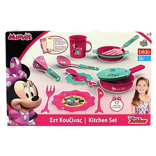 Juego de 18 piezas Minnie Kitchen Juego de cocina 8414