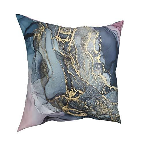 Uliykon Fundas de cojín decorativas para sofá, dormitorio, coche, con cremallera invisible de 45,7 x 45,7 cm