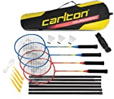 Dunlop C Br Tournament 4 Player Set G4 Ho Set Badminton, Multicolore