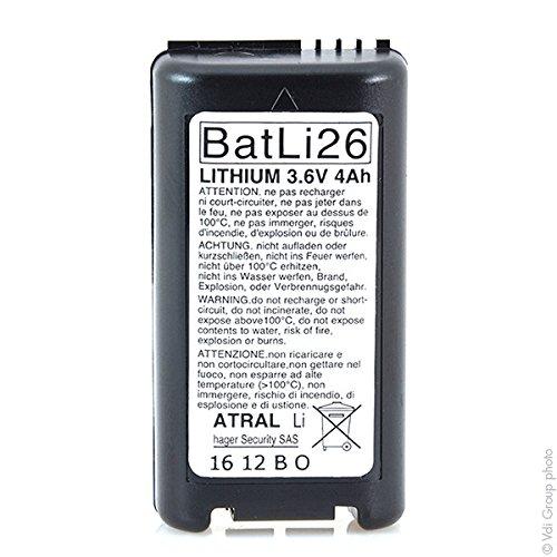 Daitem - Batterie Alarmsystem DAITEM BATLI26 2x 3.6V 4Ah
