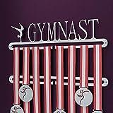 Medagliere da parete a due livelli per medaglie ottenute nella ginnastica...