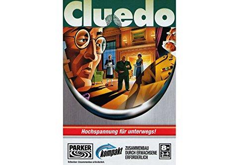 CLUEDO Kompakt von PARKER Reisespiel oder für Zuhause Brett