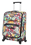 Lily Bloom Carry On Expandable Design Pattern Luggage With...