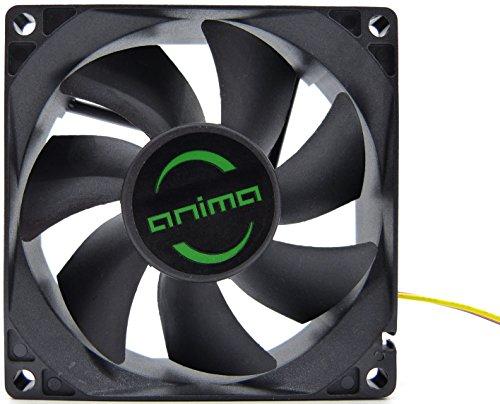 Tacens Anima AF8, ventilador para PC, 8cm, 12v, 12dB, 7 aspas, 1800 RPM, negro